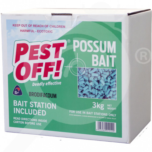 nz acp limited rodenticide pestoff possum waxed pellets 10 kg - 1, small