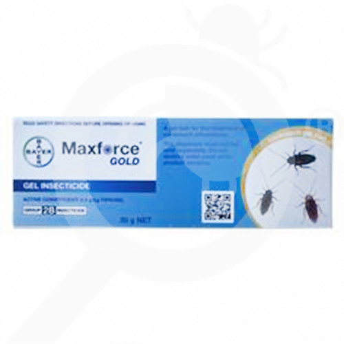 nz bayer insecticide maxforce gold cockroach gel 35 g - 0, small