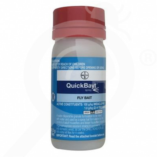 nz bayer insecticide quickbayt fly bait spray 1 kg - 0, small