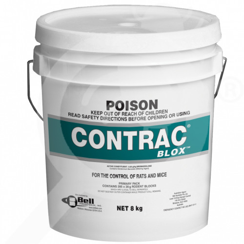 nz bell lab rodenticide contrac blox 8 kg - 0, small