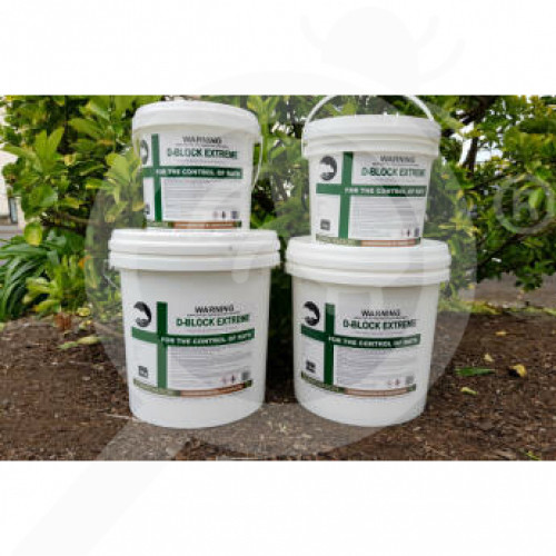 nz connovation rodenticide d block extreme 1 kg - 1, small
