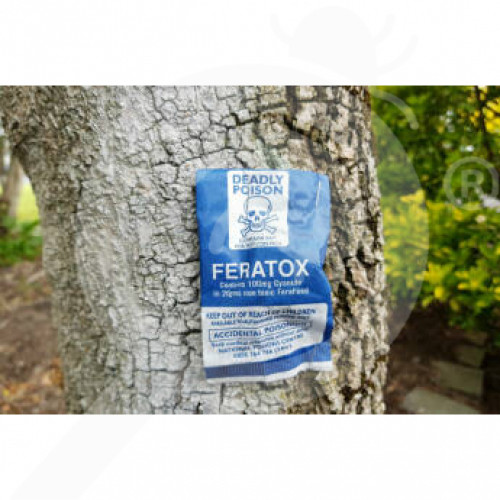 nz connovation rodenticide feratox bio bag 12 g set of 50 - 1, small