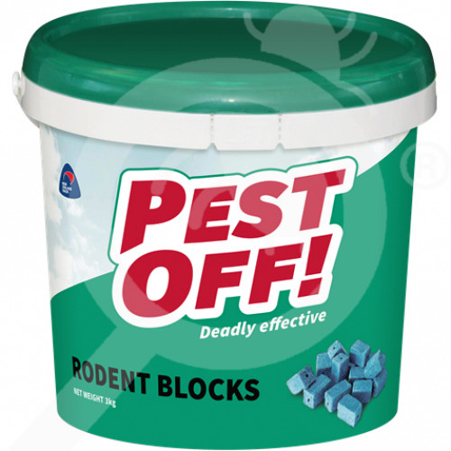 nz acp limited rodenticide pestoff rodent block 3 kg - 2, small