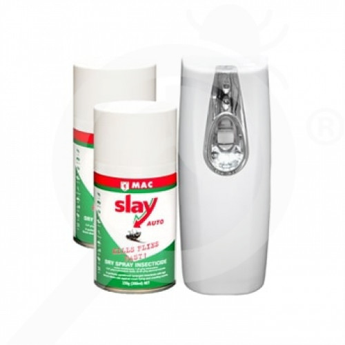 nz mac insecticide slay auto pack dispenser 2 x 300 ml - 1, small