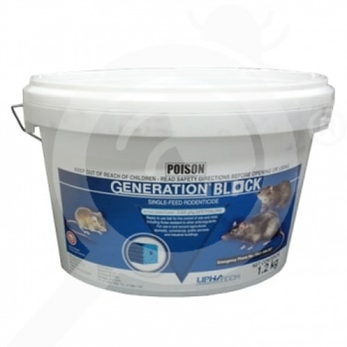 nz lipha tech rodenticide generation blocks 1 2 kg - 1, small