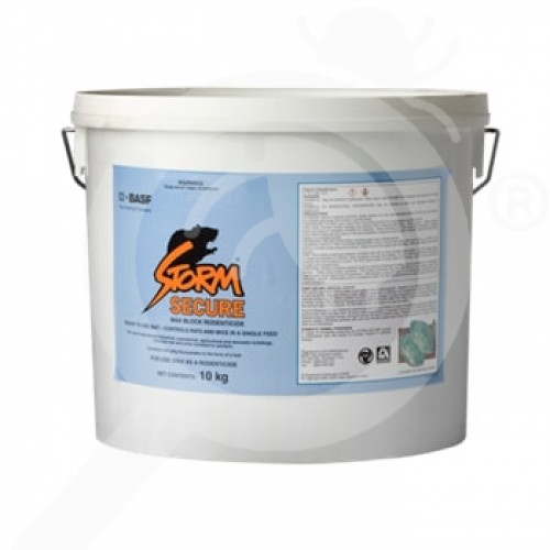 nz basf rodenticide storm secure rodenticide blocks 10 kg - 1, small