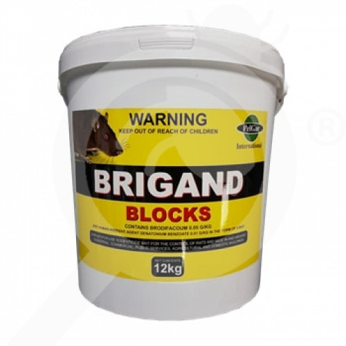 nz pelgar rodenticide brigand 12 kg - 1, small