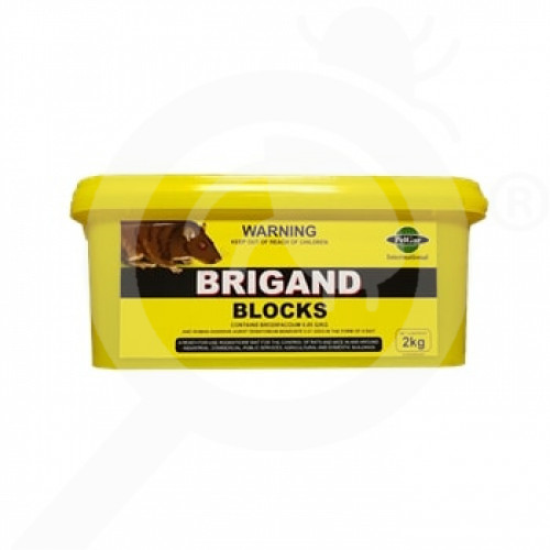 nz pelgar rodenticide brigand 2 kg - 1, small