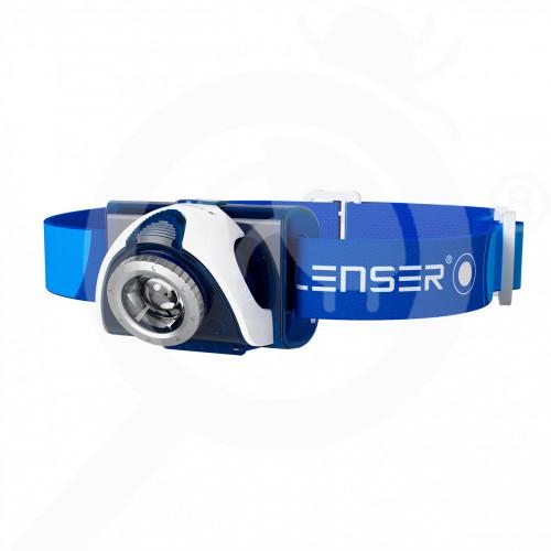 nz globe special unit led lenser seo 7r blue headlamp - 1, small