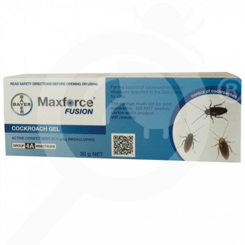 nz bayer insecticide maxforce fusion cockroach gel 30 g - 1, small