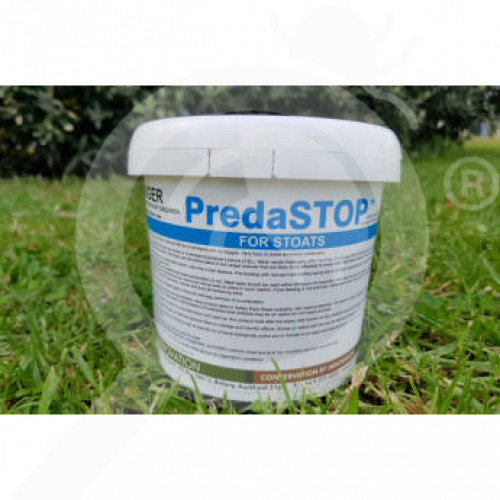 nz connovation rodenticide predastop for weasels 4 g - 1, small