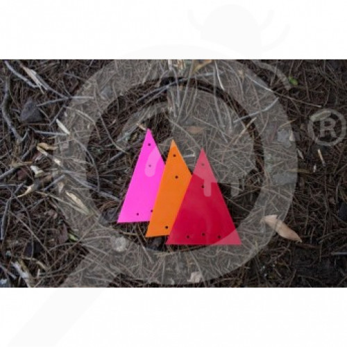 nz connovation special unit triangle markers pink set of 200 - 1, small