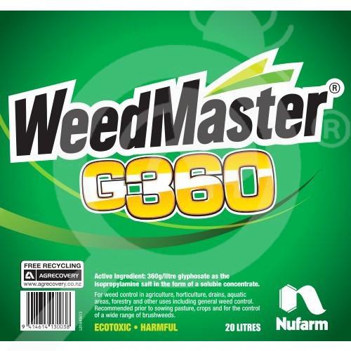 nz nufarm herbicide weedmaster g360 20 l - 2, small