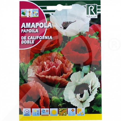 pl rocalba seed poppy de california doble 2 g - 0, small