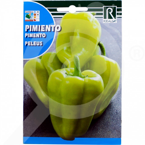 pl rocalba seed green pepper peleus 1 g - 0, small