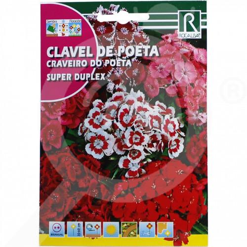 pl rocalba seed carnations super duplex 4 g - 0, small