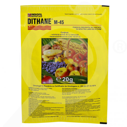 pl dow agro fungicide dithane m 45 20 g - 0, small