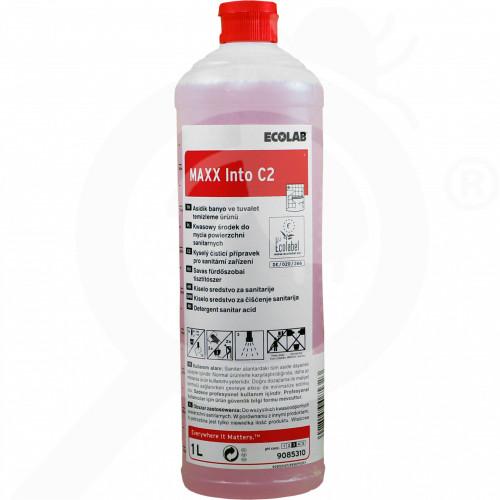 pl ecolab detergent maxx2 into c 1 l - 1, small