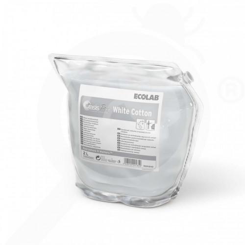 pl ecolab detergent oasis pro white cotton 2 l - 0, small