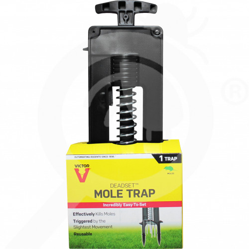 pl woodstream trap victor deadset m9015 mole trap - 1, small