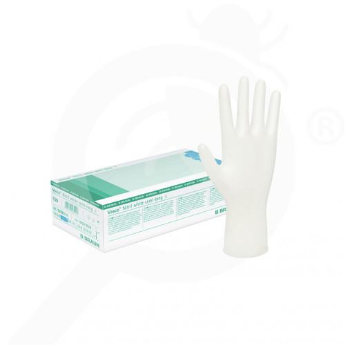 pl b braun safety equipment vasco nitril semi long xs 150 p - 0, small