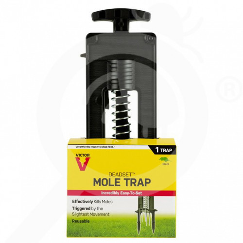 pl woodstream trap victor deadset m9015 mole trap - 0, small