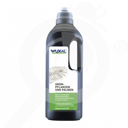 pl hauert fertilizer wuxal green plants and palm fertilizer 1 l - 0, small