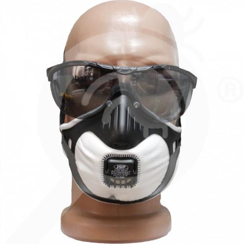 uk jsp valve half mask 3x ffp2v filterspec smoke protection kit - 0, small