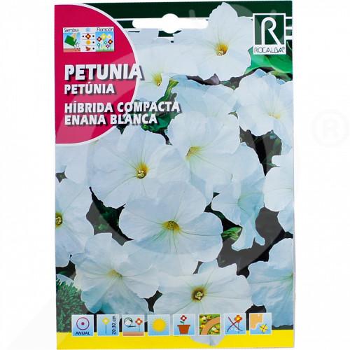 uk rocalba seed petunia hibrida compacta enana blanca 0 5 g - 0, small