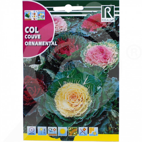 uk rocalba seed ornamental cabbage 1 g - 0, small