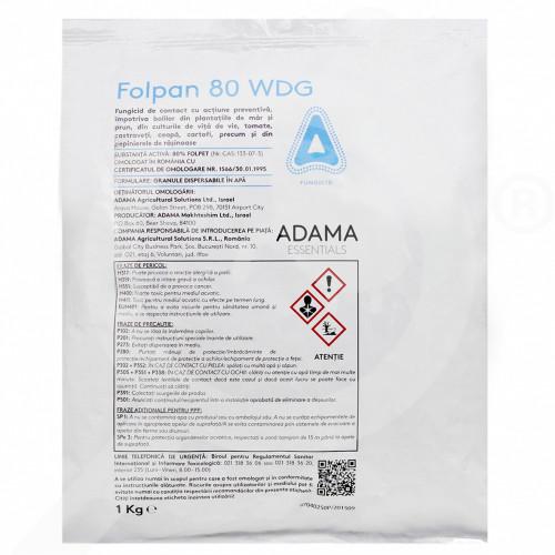 uk adama fungicide folpan 80 wdg 1 kg - 0, small