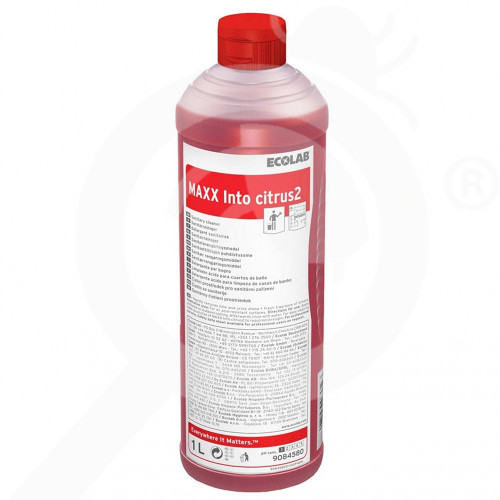 uk ecolab detergent maxx2 into citrus 1 l - 0, small