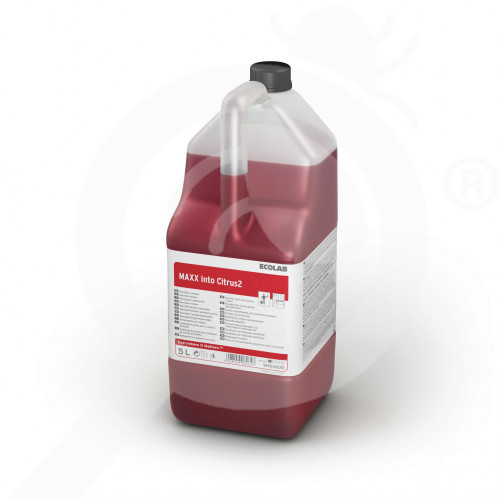 uk ecolab detergent maxx2 into citrus 5 l - 0, small