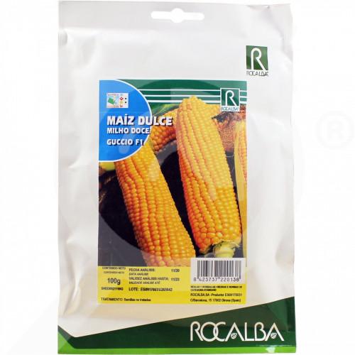 uk rocalba seed sweet corn guccio f1 100 g - 0, small