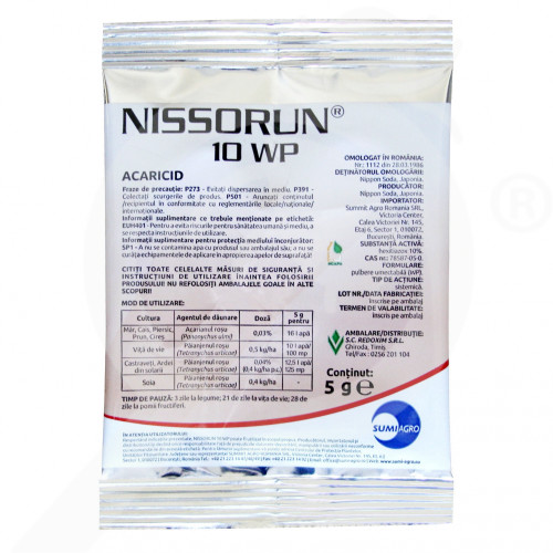 uk nippon soda insecticide crop nissorun 10 wp 5 g - 0, small