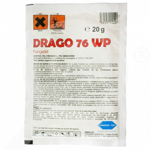uk oxon fungicide drago 76 wp 20 g - 0, small