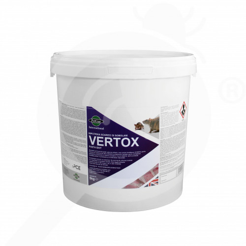 uk pelgar rodenticide vertox pasta bait 5 kg - 1, small