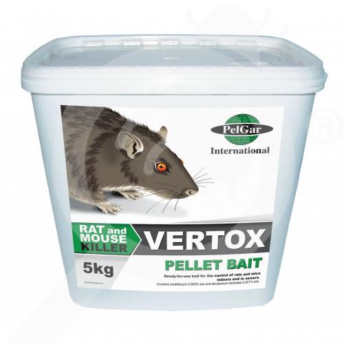 uk pelgar rodenticide vertox pellet 5 kg - 0, small