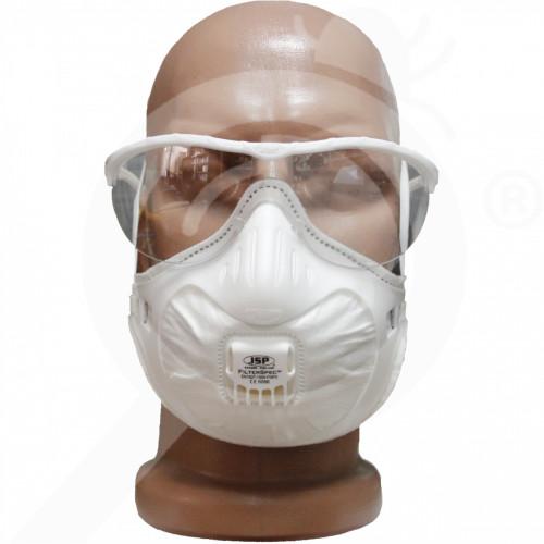 uk jsp valve half mask 3x ffp2v filterspec protection kit - 0, small