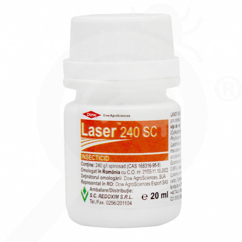 uk dow agro insecticide crop laser 240sc 20 ml - 0
