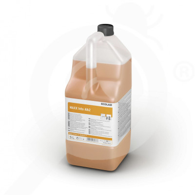 gr ecolab detergent maxx2 into alk 5 l - 0