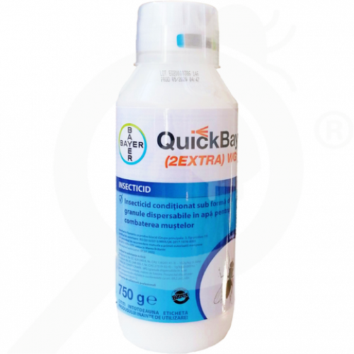 gr bayer insecticide quick bayt 2extra wg 10 750 g - 0, small