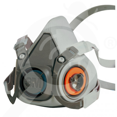 gr 3m safety equipment 6000 half face mask - 0, small