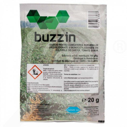 gr sharda cropchem herbicide buzzin 20 g - 0, small
