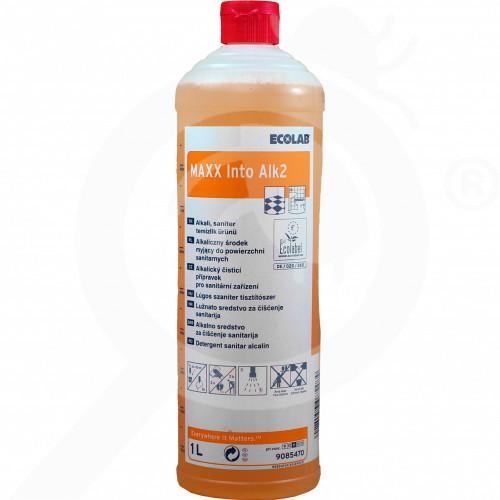 gr ecolab detergent maxx2 into alk 1 l - 0, small