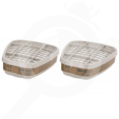 gr 3m mask filter 6051 a1 2 p - 0, small