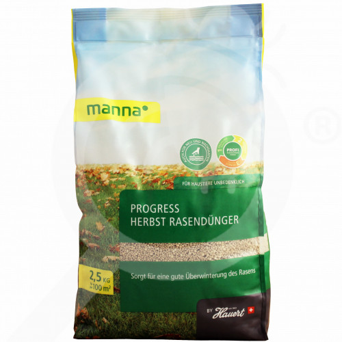 gr hauert fertilizer grass autumn 2 5 kg - 0, small