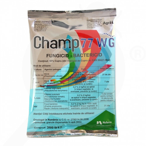 gr nufarm fungicide champ 77 wg 200 g - 0, small