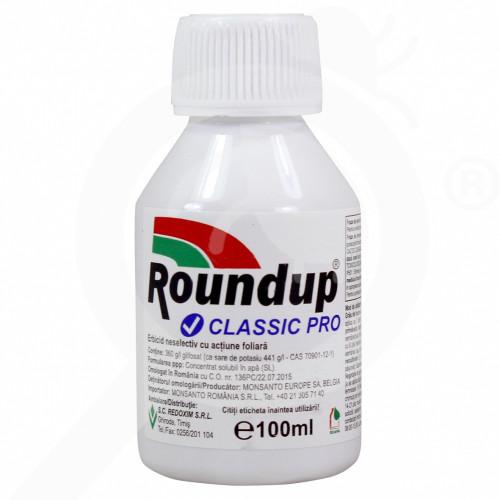 gr monsanto herbicide roundup classic pro 100 ml - 0, small