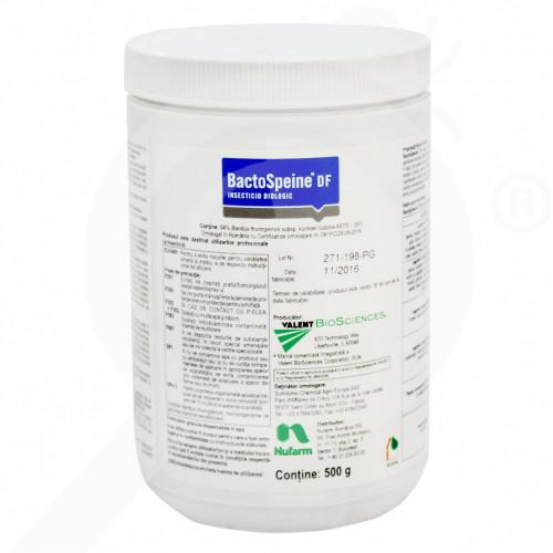 gr nufarm insecticide crop bactospeine df 500 g - 0, small
